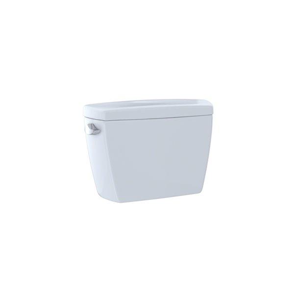 Réservoir de toilette Eco Drake de TOTO, simple chasse, coton blanc