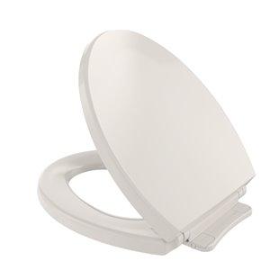 Siège de toilette rond à fermeture en douceur de TOTO, beige sedona