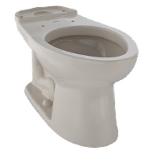 TOTO Drake Elongated Toilet Bowl - Bone