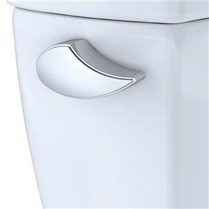 Levier de déclenchement pour les toilettes Carusoe de TOTO, chrome poli
