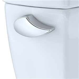 Levier de déclenchement pour toilettes de TOTO, chrome poli