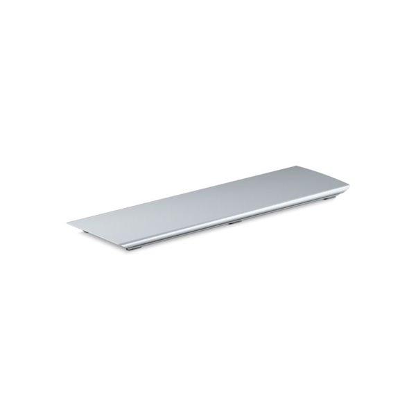 Couvre-drain en aluminium Bellwether de KOHLER, nickel poli