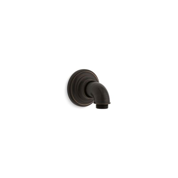 KOHLER Artifacts Wall-Mount Supply Elbow - Oil Rubbed Bronze