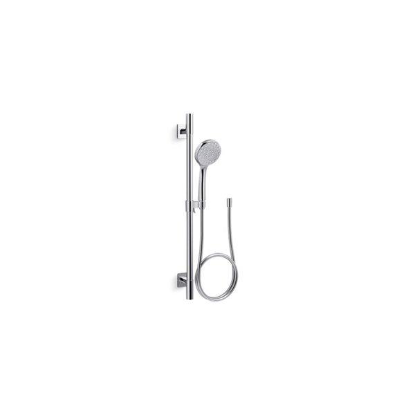 KOHLER Awaken B110 Deluxe Hand Shower and Sliding Bar Kit - Polished Chrome