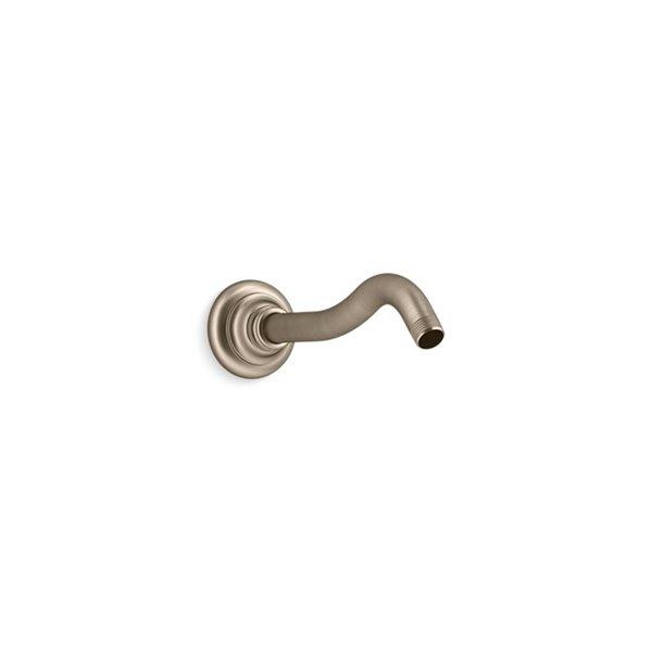 KOHLER Artifacts Shower Arm and Flange - Brushed Bronze