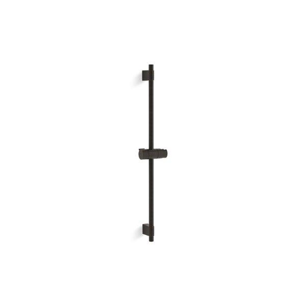 KOHLER Awaken Shower Sliding Bar - 24-in - Oil Rubbed Bronze