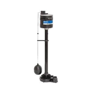 nForcer Thermoplastic Pedestal Sump Pump - 1/3 HP