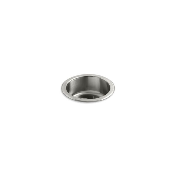 KOHLER Undertone Circular Under-Mount Bar Sink - Stainless Steel