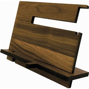 McNeil Decorative Desk organizer in Black Walnut