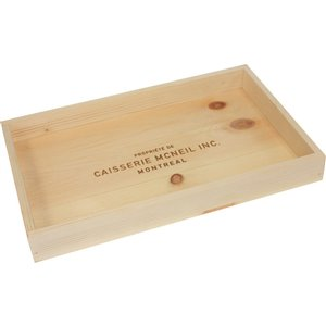 McNeil Natural Decorative Wooden Tray in pine - 17-in x 10.5-in x 2-in