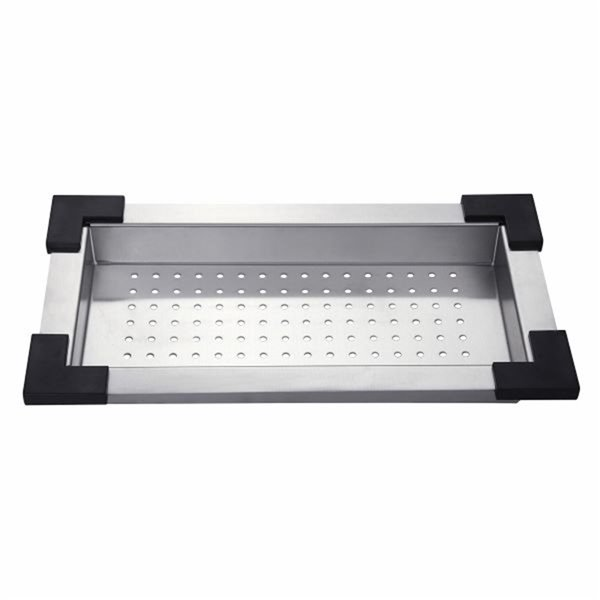 KRAUS Colander for Workstation Kitchen Sink - Stainless Steel