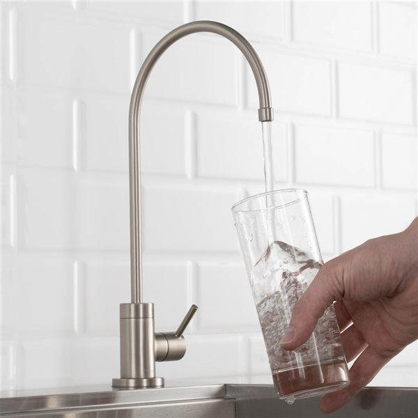KRAUS Purita Drinking Water Dispenser Beverage Kitchen Faucet - Stainless Steel