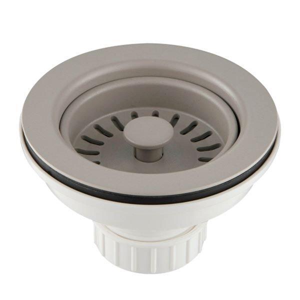 KRAUS Kitchen Sink Strainer in Truffle