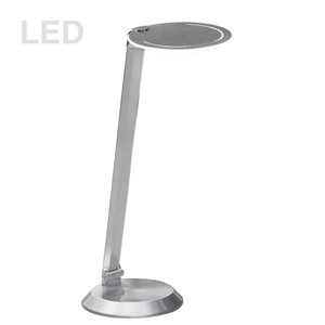Dainolite Signature Desk Lamp - 18-in - Satin Nickel