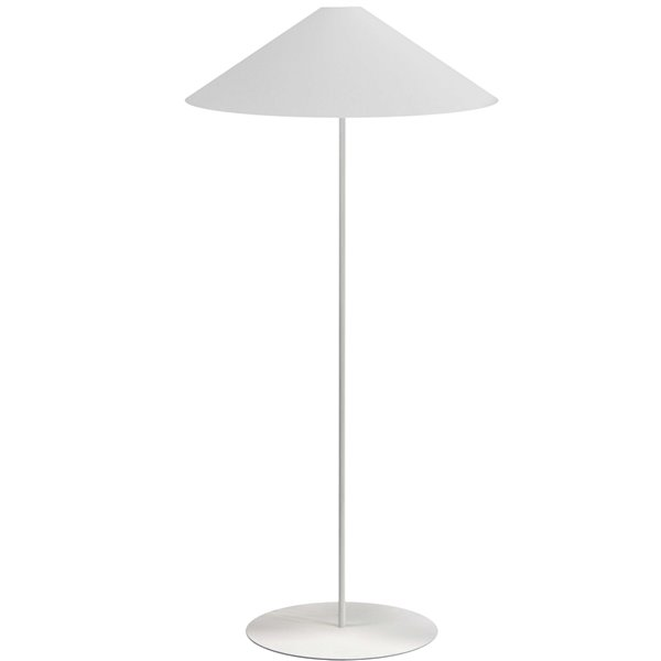 Dainolite Maine Floor Lamp - 1-Light - 61-in - White