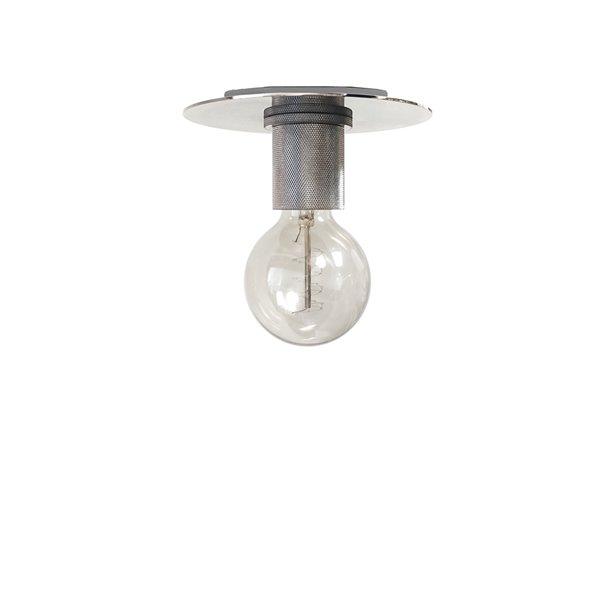 Plafonnier Roswell de Dainolite, 1 lumière, 7.9 po x 3.3 po, chrome poli