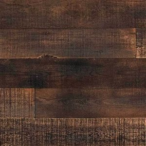 AS-IS BRAND ISH Wall Panel - 5-in x 4-ft - Umber