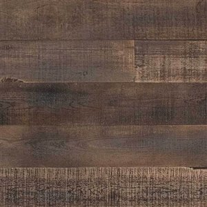 AS-IS BRAND ISH Wall Panel - 5-in x 4-ft - Brown