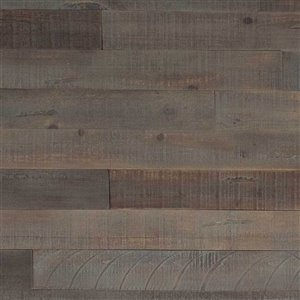 AS-IS BRAND ISH Wall Panel - 5-in x 4-ft - Grey