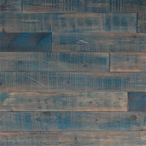 AS-IS BRAND ISH Wall Panel - 5-in x 4-ft - Blue