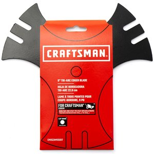 Crafstman Tri-Arc Edger Blade - 9-in - Black