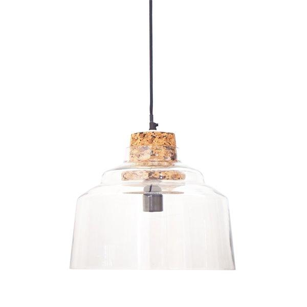 Gild Design House Cork Pendant Light - Clear Glass