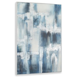 Gild Design House White Caps Wall Art - 74-in x 50-in