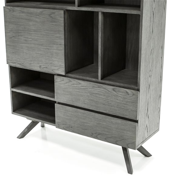 Gild Design House Leo Highboard - Gray - 63-in x 47-in
