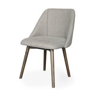 Chaise de salle à manger Gild Design House Landon, brune et grise