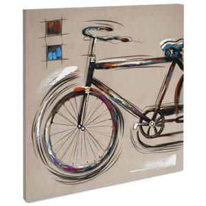 Gild Design House Rider Vintage Bicycle Wall Art - 39-in x 39-in