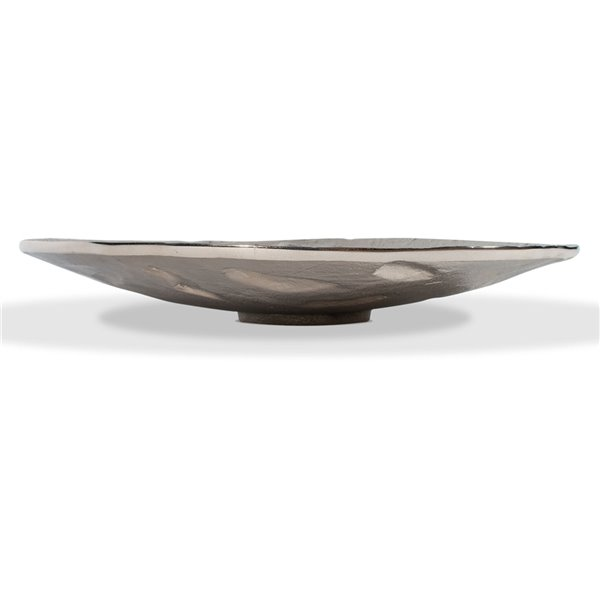 Gild Design House Freya Decorative Tray - Silver - 15-in