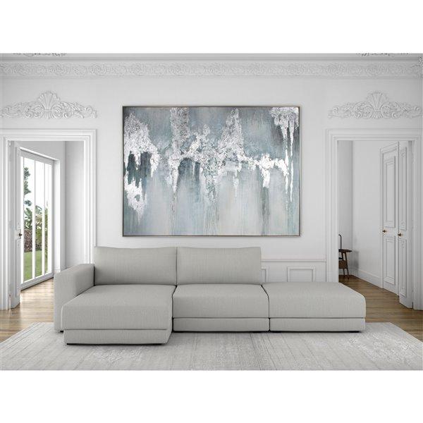 Gild Design House Exquisite Aquamarine Wall Art - 75-in x 55-in