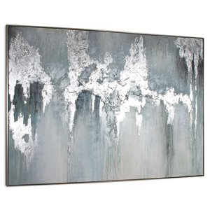 Gild Design House Exquisite Aquamarine Wall Art - 75-in x 55-in