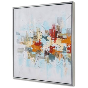 Gild Design House Patchwork I Wall Art - 36-in x 36-in