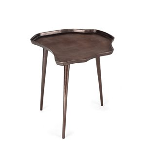 Table d'appoint Gild Design House Evianna, bronze