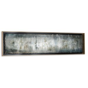 Gild Design House Blue Ingot Wall Art - Painted on Metal - 63-in x 17-in