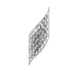 CWI Lighting Chique 4-Light Wall Sconce with Chrome Finish