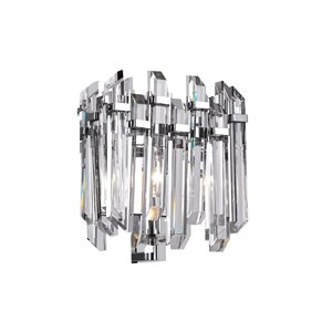 CWI Lighting Henrietta 1-Light Wall Sconce with Chrome Finish