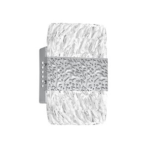 CWI Lighting Carolina Modern Wall Sconce - LED Light - Pewter