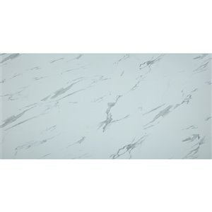 Mono Serra Vinyl Tile SPC Carrara 4.2 mm - 28 sq. ft / case