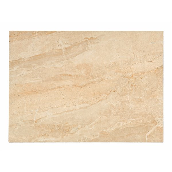 Mono Serra Ceramic Tile 13-in x 19-in Elesa Beige 18.96 sq.ft. / case (11 pcs / case)