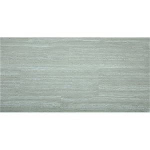 Mono Serra Vinyl Tile SPC Travertino Light Gray 4.2 mm - 28 sq. ft / case