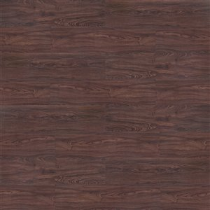 Mono Serra planche de vinyle LVP Lapacho Chocolat 2 mm DryBack - 48.28 sq. ft / case