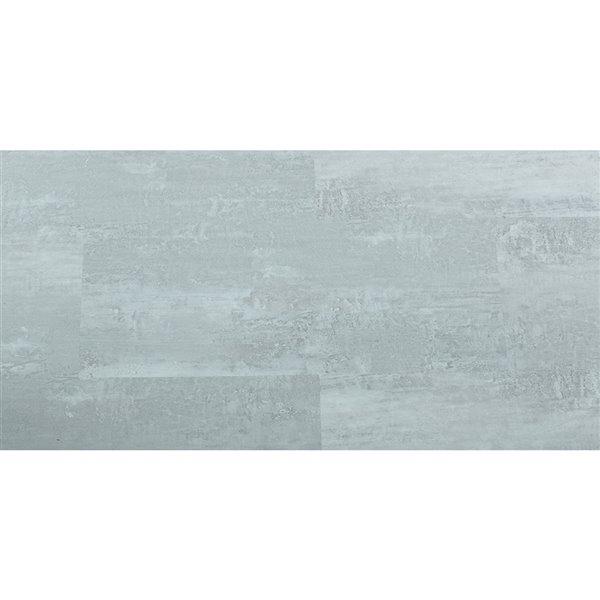 Tuile de vinyle Mono Serra SPC Ciment Gris Leger 4.2 mm, 28 pi2 / boite