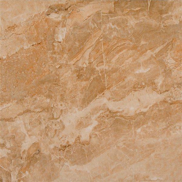 Mono Serra Ceramic Tile 13.4-in x 13.4-in Elesa Dark 14.95 sq.ft. / case (12 pcs / case)