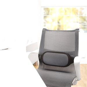 Fellowes I-Spire Series Lumbar Cushion - Black