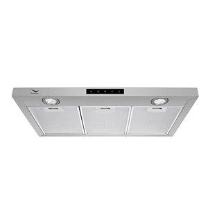 Streamline Convertible Undercabinet Kitchen Range Hood - 35.4-in - Stainless Steel