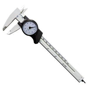Pied à coulisse SAE/métrique à cadran Precision d'Innovak, 150 mm