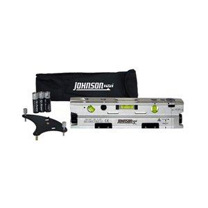 Projecteur de points laser torpille magnétique à trois faisceaux Johnson Level