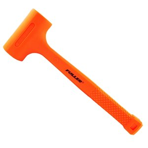 Maillet anti-rebond Fuller d'Innovak, 24 oz, orange